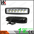 WEIKEN jeep accessories 18w IP67 waterproof super bright led work light