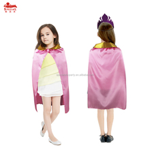 SPECIAL Girls Princess Cape & Crown Kids Costumes for Children Halloween Party Gifts