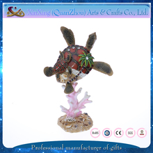 wholesale resin cute turtle shape home decor products