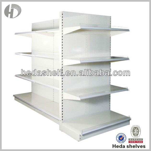 wire rack for supermarket shelving