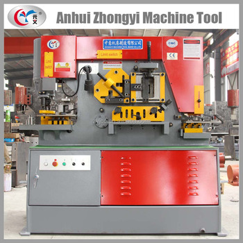 Zhongyi multiple function shear punch ironworker