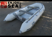 2016 Jiahai 3.6m white Fishing inflatable boat with outboard engine