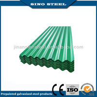 On sale 15/7 coating color coated galvanized corrugated roofing sheet price per sheet