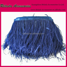 Factory wholesale cheap garments ostirch feather trimming ,Ostrich feather trim