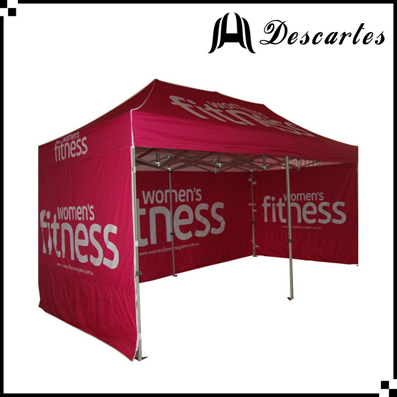 Custom hexagonal folding canopy/advertising tents/3X6m folding marquee with walls