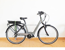 700C lithium battery city style e-bike/electric bicycle with g central motor for European market