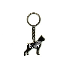 China Supplier Wholesale Customized Dog Metal Keychain
