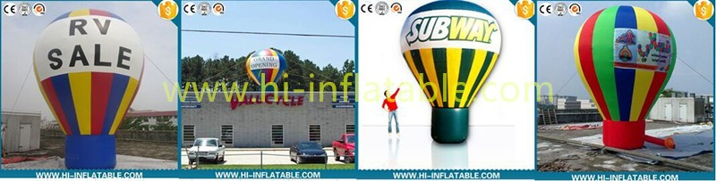 Hot advertising inflatable roof top balloon
