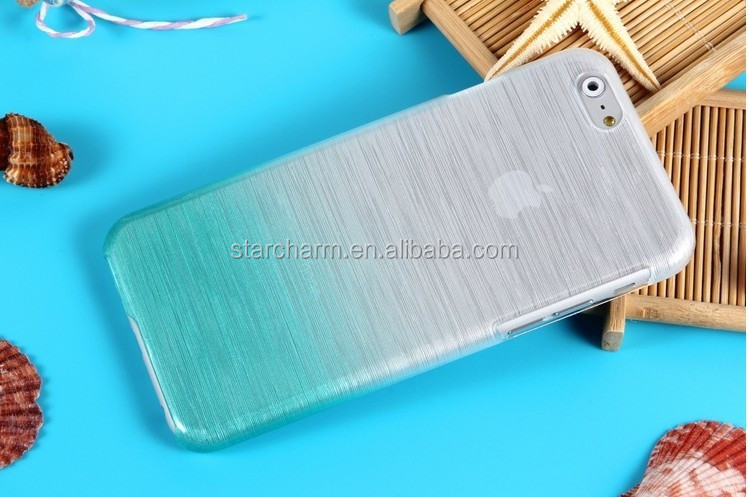 New coming Dual colors case hard for Iphone 6, fancy slim cover for Iphone6