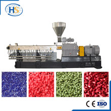 Nanjing Haisi professional twin screw plastic extruder machine sale