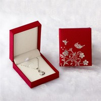 custom jewelry box for pendant,chear jewelry box from china