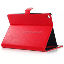 Foldable Security Holder Case for iPad Air 2 PU Leather Holder Cover