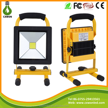 10w 30w 50w Waterproof IP65 camping lamp outdoor flood light portable rechargeable led floodlight 20w