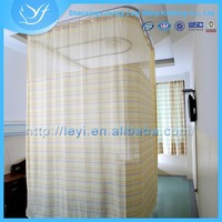 LY-17 100% Polyester Textile Medical Divider Screen/Hospital Curtains