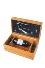 2015 Wooden wine box