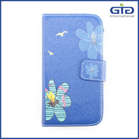 Universal Flip Cover Case Leather+Silicon for Mobile Phone