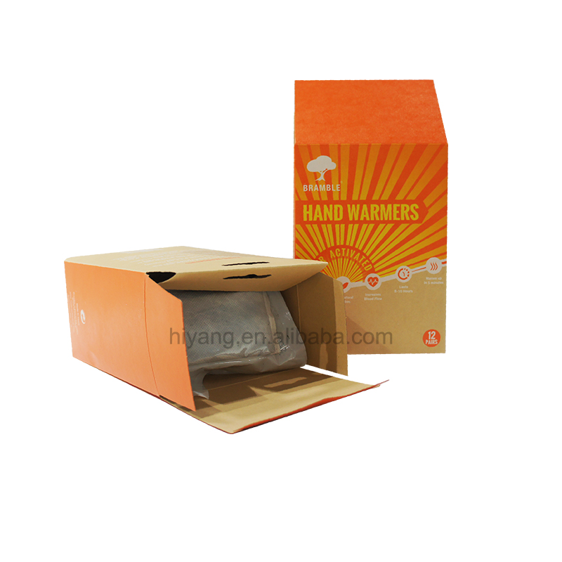 High Quality Eco Friendly Brown Kraft Paper Box with Hanging