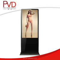 46 inch China supplier high contrast lcd monitor usb media player for advertising