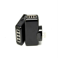 Multifunction 4 port phone charger top sale usb wall charger for iphone5/for ipad charger