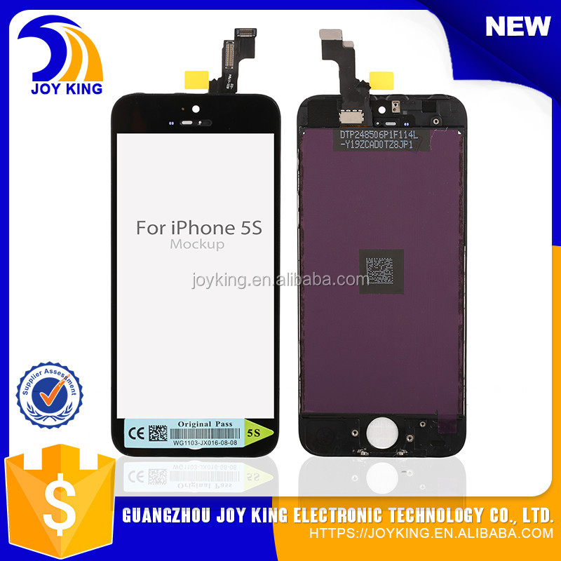 wholesale!!! for iphone 5 5s lcd, for iphone 5s lcd complete touch screen, for iphone 5 screen replacement