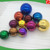 Christmas Decoration 42mm, 51mm, 55mm Chrome Stainless Steel Color Hollow Spheres Balls