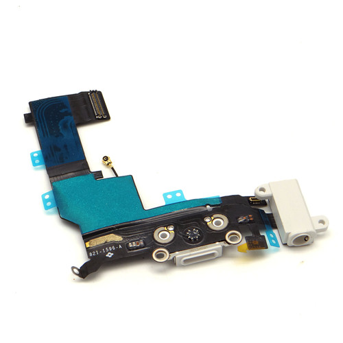 For iPhone 5S Black Charging Port  Replacement Charger Flex USB Dock