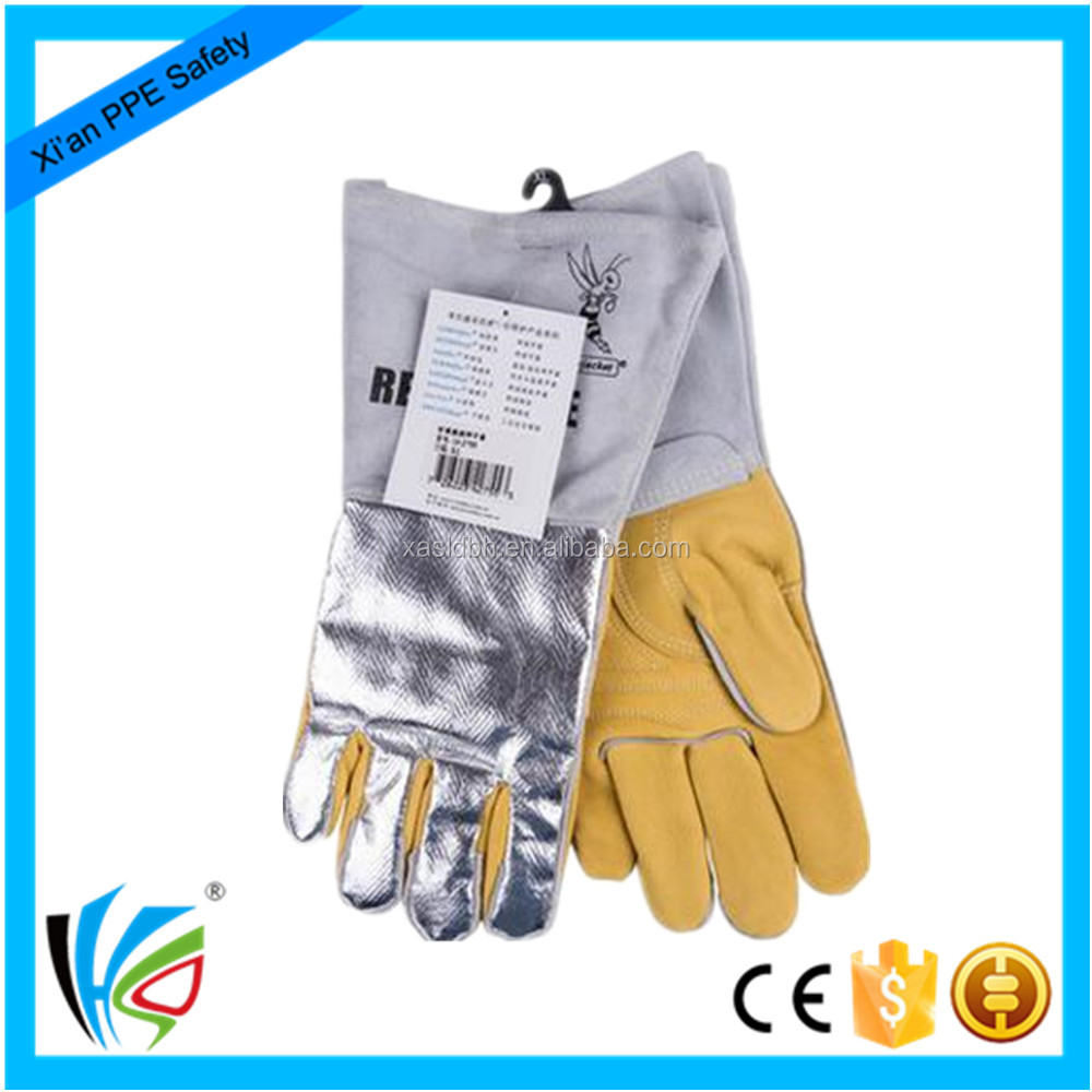 Reflective Aluminum Cut Resistant Hand Mechanic Gloves
