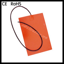 Custom Designed Flexible Silicone Heater/Heating/Thermal Mat/Pad/Blanket/Element 3-380V