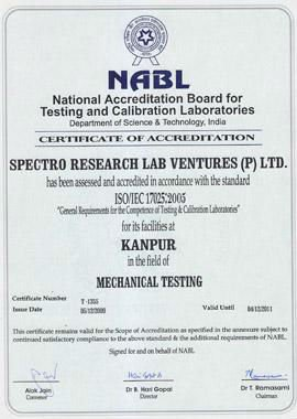 NABL Accredited Testing