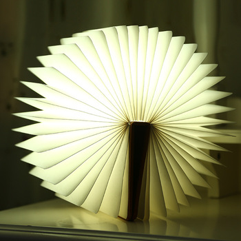 lumio book lamp USB book shape foldable LED book light portable book lamp