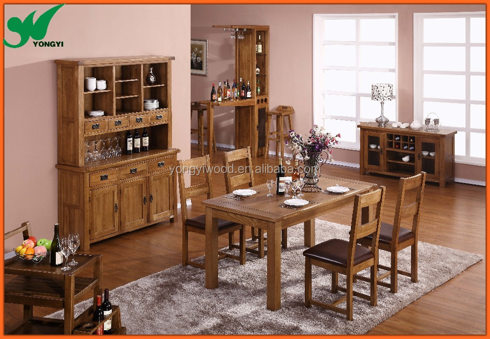 Dining room furniture set table dining table bar stool for Best quality dining room furniture manufacturers