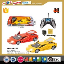1:18 scale one key open the door gravity remote control car