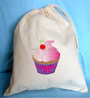 Cup cake drawsting bag 2015