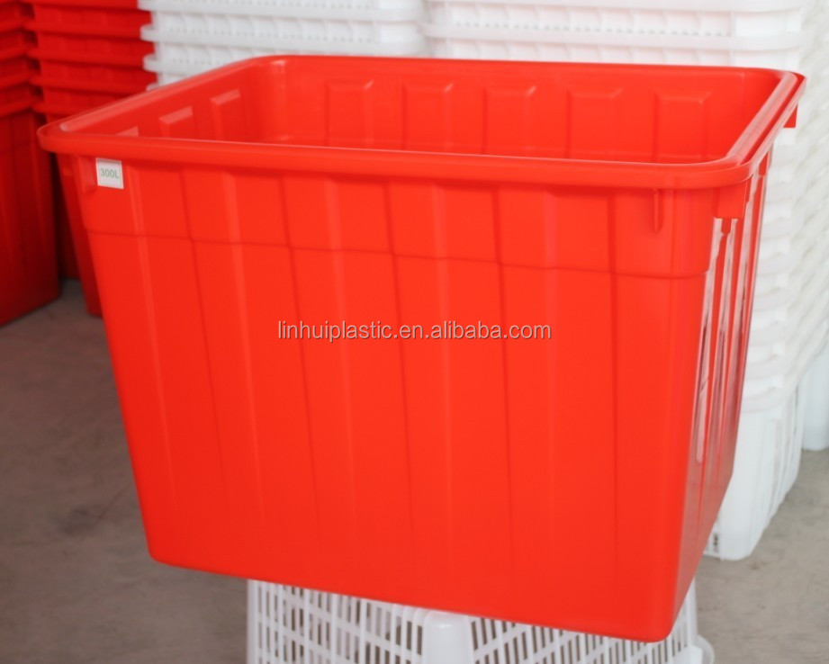 300 litre square tank plastic water tank for aquatic with factory price