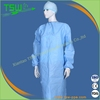 Disposable SMS blue sewing stitch bond surgical gown