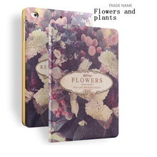 Flowers and Plants Painting Case for iPad Mini 1/2/3, for iPad 8 inch Case, for iPad Mini with Color Printing