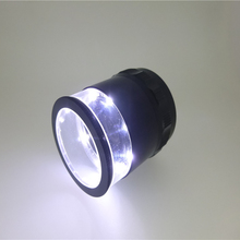 China Manufacturer spi scale loupe 10x repair with portable led light loupes