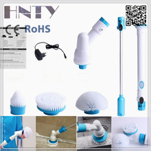 2017 Hot Selling Spin Scrub 360 Cordless Tile Scrubber Cleaning Brush