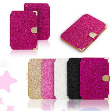 new magnetic bling crystal diamond flip case cover for apple ipad mini 2