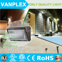 100W led wall pack light,meanwell driver,DLC CE UL/cUL ETL with long lifespan
