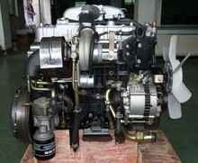 4JB1 turbo engine with EGR for D-MAX