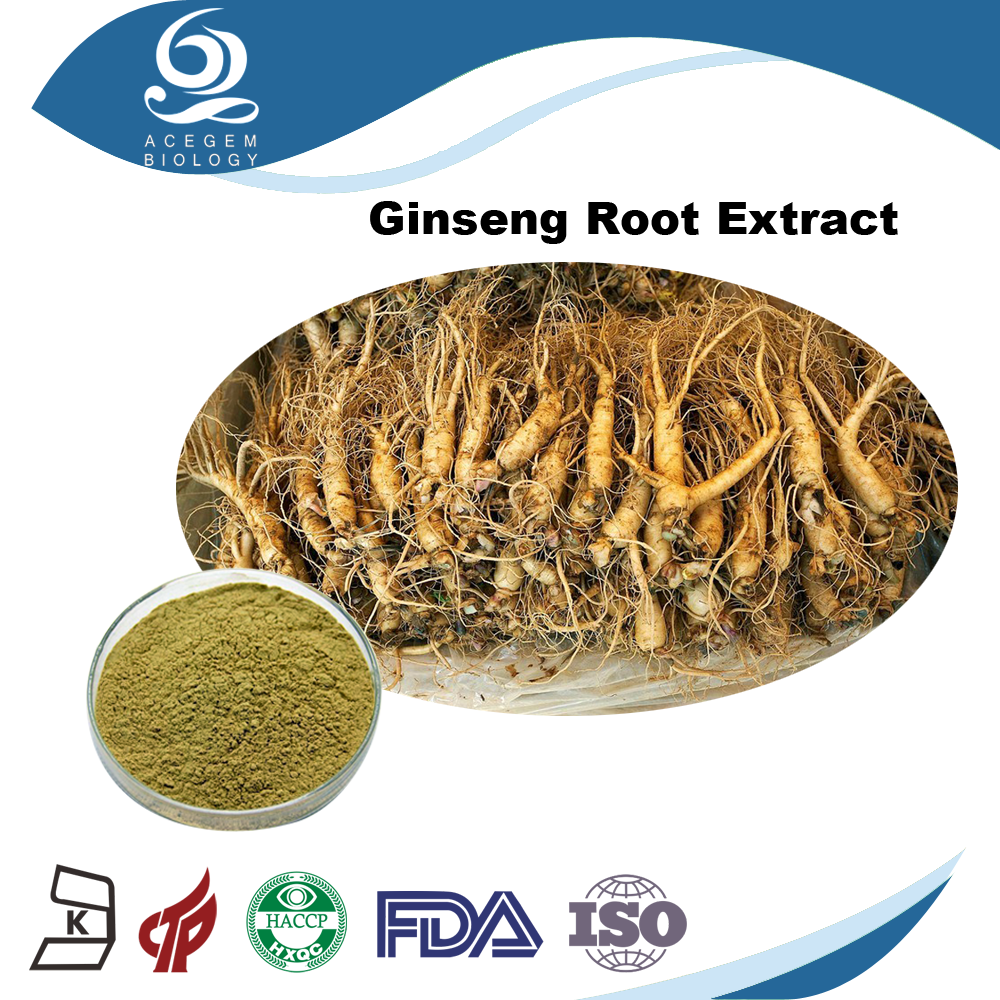 Low heavy metals brown-yellow color Red ginseng extract