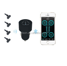 Internal smartphone tpms for car/ bluetooth car tpms working for android / Ios system