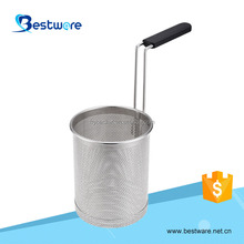 Stainless Steel Punch-hole Strainer Pasta Basket