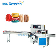 High Efficiency Food Macaron Packing Machine With Nitrogen Packing Machine Foshan Factory