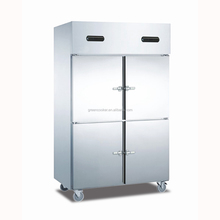 Kitchen hanging Fresh meat refrigeration freezer cabinet