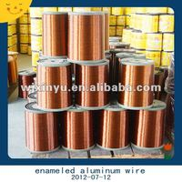 Enameled aluminum transformer winding wire gauge