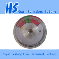 23mm Pressure Gauge for Powder/Foam fire extinguisher bourdon tube pressure gauge