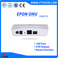 1GE Data Port EPON ONU Route Feature GEPON Terminal Box FTTH Solution Support Port Rate Limiting