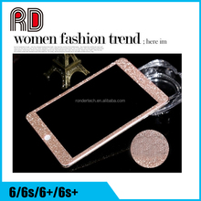 Luxury Bling Crystal Diamond Screen Protector Film Sticker for iphone 5/6/6plus for ipad for samsung smart phone